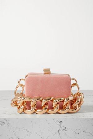 Pink Ralphie mini leather tote   16ARLINGTON   NET-A-PORTER