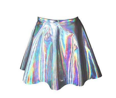 Holo Skater-Skirt