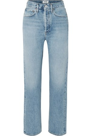AGOLDE | '90s mid-rise straight-leg jeans | NET-A-PORTER.COM