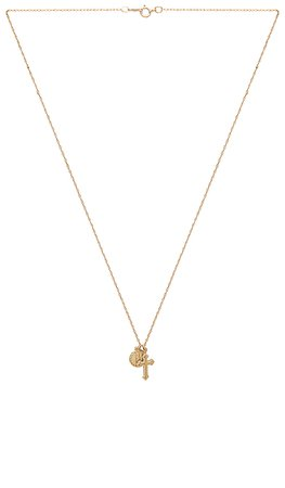 Child of Wild Hail Mary Necklace in Gold | REVOLVE