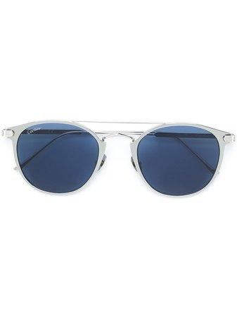 Cartier Eyewear C Décor pantos-frame Sunglasses - Farfetch