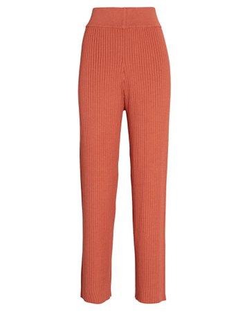 Cult Gaia Jada Rib Knit Pants | INTERMIX®