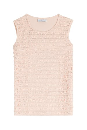 Sleeveless Top with Lace Gr. M
