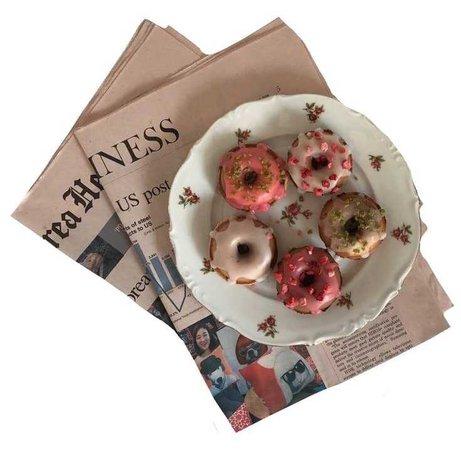 newspaper n doughnut png