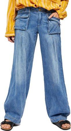 Birch Wide Leg Jeans