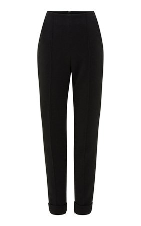 Brooks Crepe Tapered Pants by Alex Perry | Moda Operandi