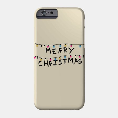 Stranger Things Christmas Phone Case