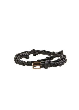 MANGO Braided belt