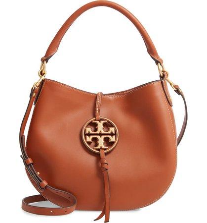 Tory Burch Mini Miller Leather Hobo Bag   Nordstrom