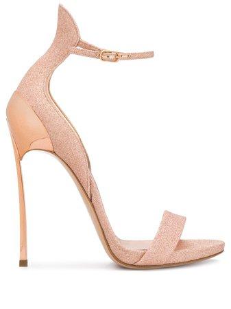 Casadei glitter stiletto sandals - FARFETCH