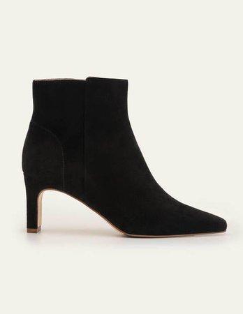 Malvern Ankle Boots - Black | Boden US