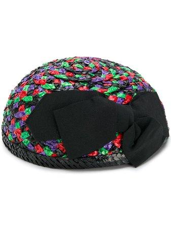 Yves Saint Laurent Pre-Owned Woven Hat Vintage | Farfetch.com
