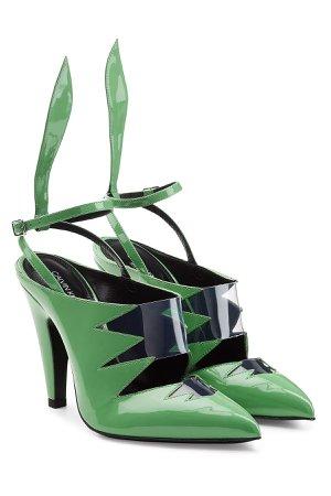 Kai Patent Leather Sandals Gr. IT 39