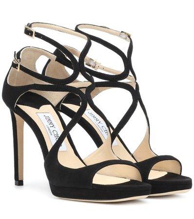 Lance 100 suede sandals