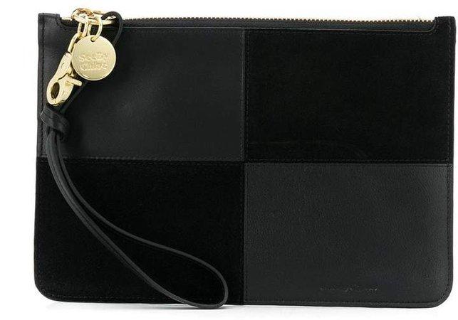 Zip-Up Clutch Bag