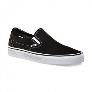 Black Classic Slip-on Vans