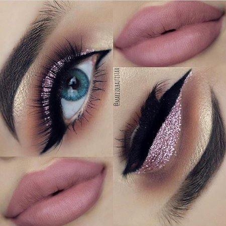 Pink-Eye-Makeup-Looks-for-Blue-Eyes-2.jpg (640×640)