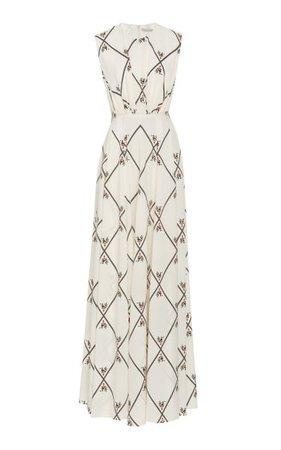 Giordana Printed Silk Maxi Dress By Emilia Wickstead | Moda Operandi