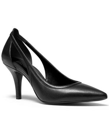 black Michael Kors Nora Flex Pumps & Reviews - Pumps - Shoes - Macy's