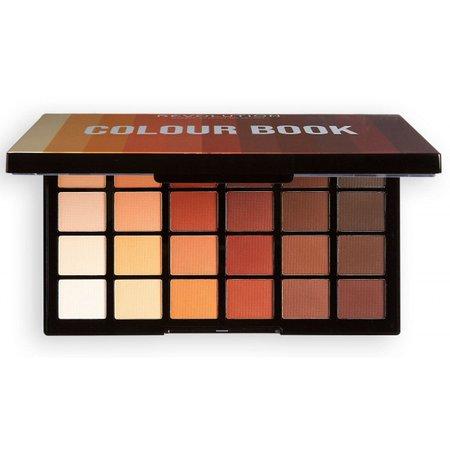 Paleta de sombras Colour Book CB02 Marrones y Nudes Revolution precio