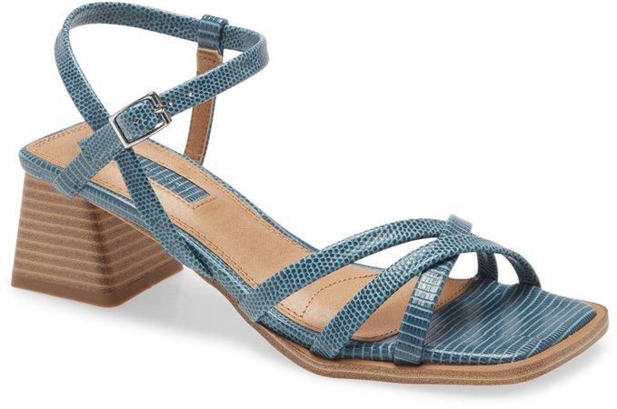 Divine Strappy Block Heel Sandal