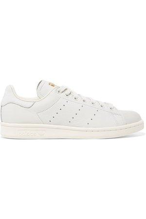 adidas Originals   Stan Smith Premium Sneakers aus strukturiertem und Nubukleder   NET-A-PORTER.COM