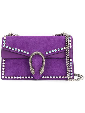 Gucci Small Dionysus Crystal Shoulder Bag - Farfetch