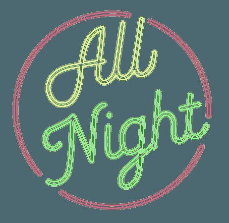 all night logo