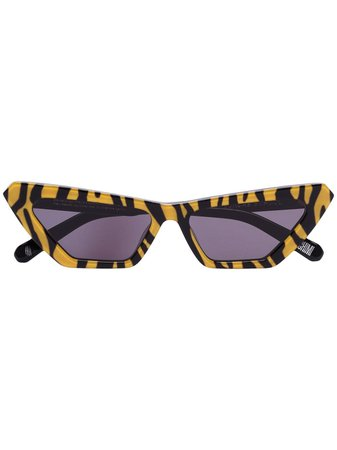 Chimi Tiger-Print Cat-Eye Sunglasses | Farfetch.com