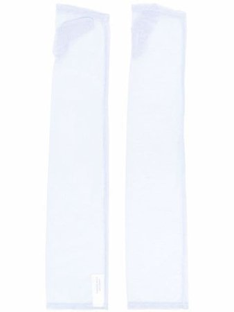 Simone Wild elbow-length Fingerless Gloves - Farfetch