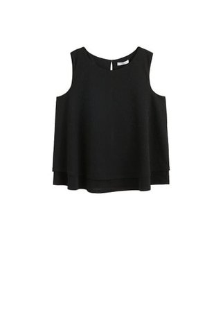 Violeta BY MANGO Double layer top