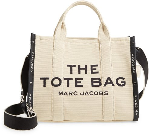 The Small Traveler Canvas Tote