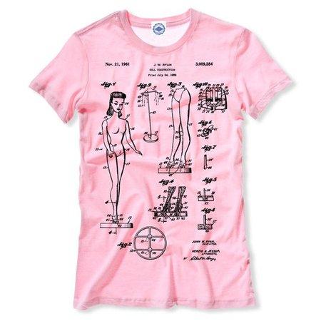 Fashion Doll Patent Women's Tee   Etsy