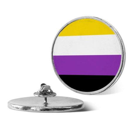 Non Binary Pride Flag pin | LookHUMAN