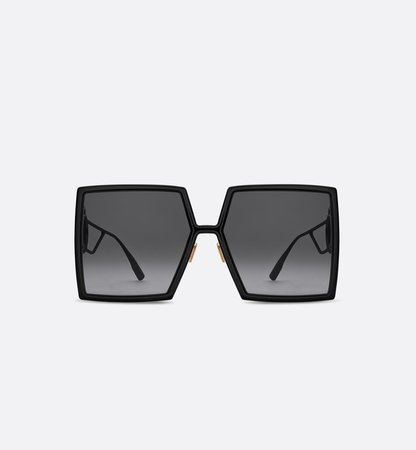 30Montaigne Black Square Sunglasses - products | DIOR