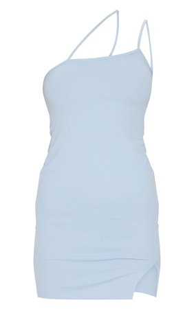 Baby Blue Bodycon Dress | PrettyLittleThing