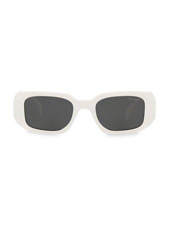Prada 51MM Rectangular Sunglasses | SaksFifthAvenue