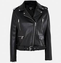 oversized leather jacket - Google Search
