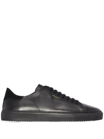 Shop black Axel Arigato Clean 90 low top sneakers with Express Delivery - Farfetch