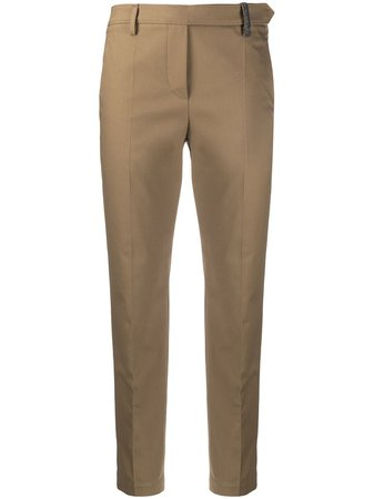 Brunello Cucinelli Tailored Straight Leg Trousers - Farfetch