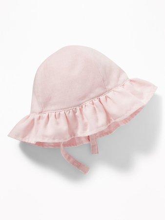 Linen-Blend Swim Hat for Baby | Old Navy