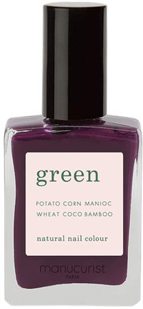 Green Nail Lacquer - Purple Spinel