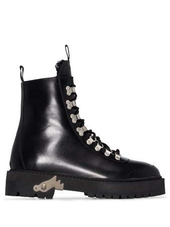 Off-White Hiking Boots - Farfetch