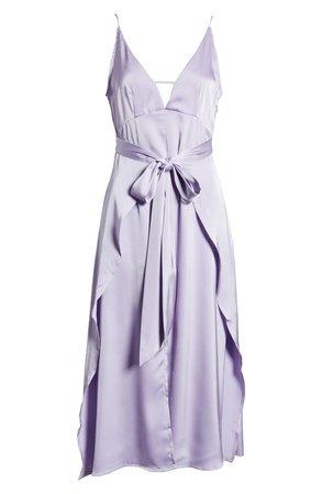 Amy Lynn Backless Satin Dress | Nordstrom