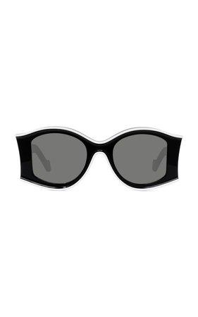 Paula's Ibiza Round-Frame Acetate Sunglasses by Loewe | Moda Operandi