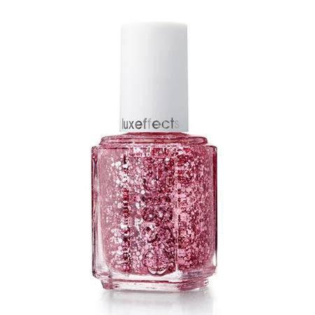nailpolish pink glitter