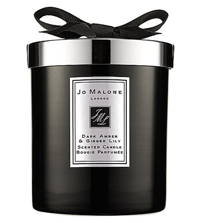 JO MALONE LONDON - Dark Amber & Ginger Lily home candle 200g | Selfridges.com