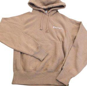 Champion Tan/Nude Reverse Weave Sweatshirt/Hoodie Size 2 (XS) - Tradesy