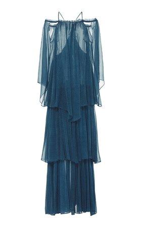 Ocean Athena Layered Chiffon Dress by Cult Gaia | Moda Operandi