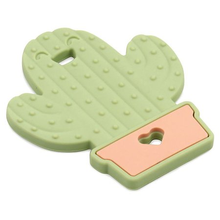 Bumkins® Cactus Silicone Teether in Green | buybuy BABY